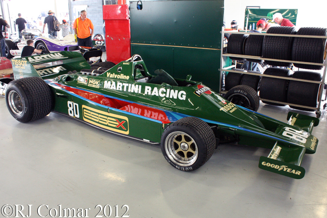 Lotus Ford 80, Silverstone Classic