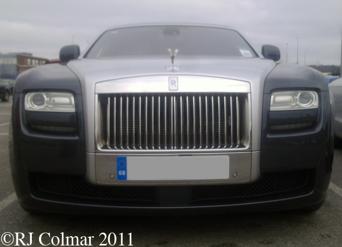 Rolls Royce Ghost V12, Piston Heads, BMW Group Plant, Cowley