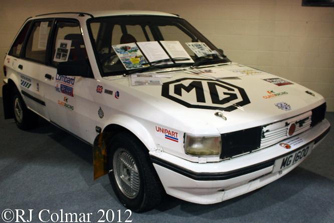MG Maestro 1600, Race Retro, Stoneliegh