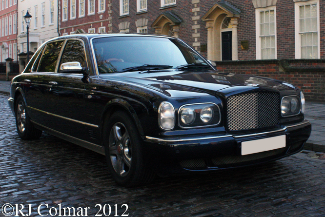 Bentley Arnage Red Label, Avenue Drivers Club, Queen Sq, Bristol