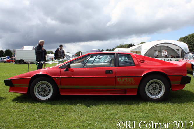 Lotus Turbo Esprit, Classic and Sports Car Action Day , Castle Combe