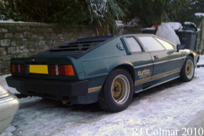 Lotus Turbo Esprit, Bristol
