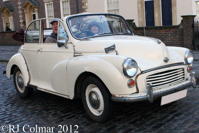 Morris Minor 1000, Avenue Drivers Club, Queen Sq, Bristol