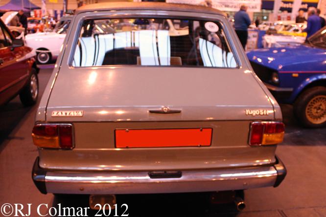 Zastava Yugo 511, The Classic Motor Show, NEC, Birmingham