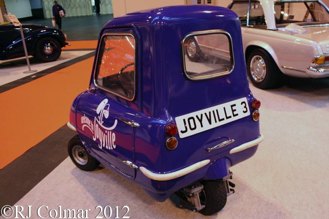 Peel P50, The Classic Motor Show, NEC, Birmingham