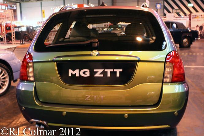 MG ZT-T, The Classic Motor Show, NEC, Birmingham