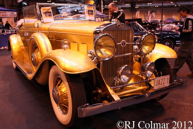 Cadillac 355, The Classic Motor Show, NEC, Birmingham