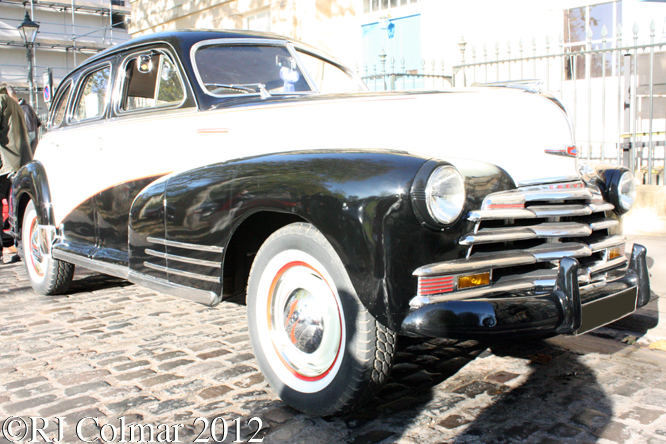 Chevrolet Fleetline, Avenue Drivers Club, Queen Sq, Bristol