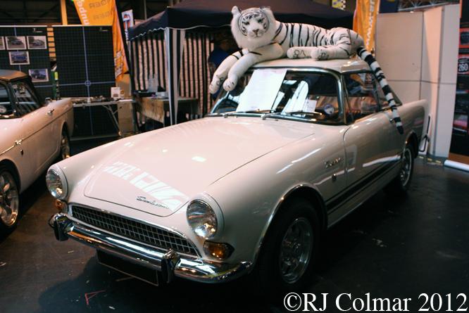 Sunbeam Tiger Mk II, The Classic Motor Show, NEC, Birmingham