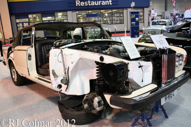 Rolls Royce Silver Shadow II, The Classic Motor Show, NEC, Birmingham
