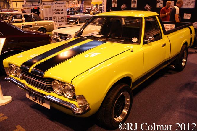 Ford P100, The Classic Motor Show, NEC, Birmingham