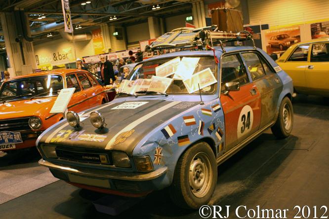 Austin Allegro S2 1300 DL, The Classic Motor Show, NEC, Birmingham