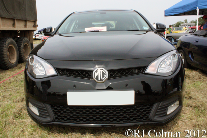 MG6 TSE GT Turbo, Summer Classics, Easter Compton