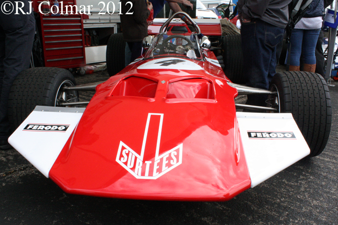 Surtees TS7, Wings & Wheels, Dunsfold