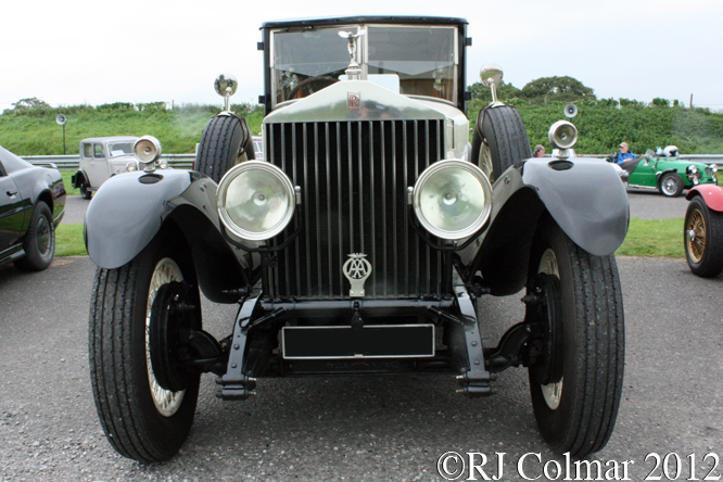 Rolls Royce Phantom I Gurney Nutting Light Saloon, Rare Breeds, Haynes International Motor Museum