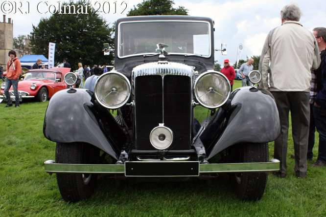 Daimler 32 hp Straight Eight Limousine, Classics at the Castle, Sherborne