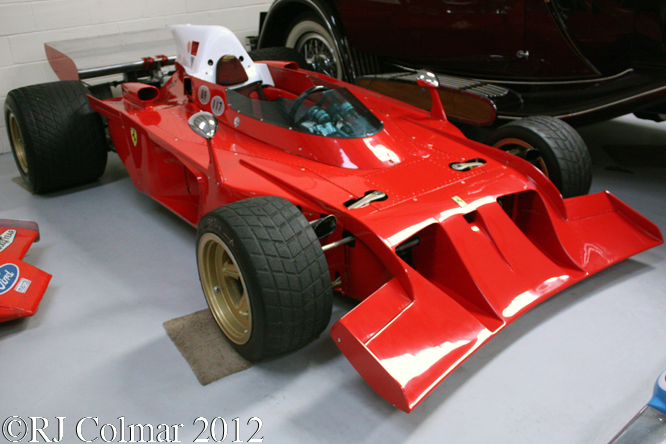 Ferrari 312 B3 Spazzaneve, Hall & Hall, Bourne, Lincs