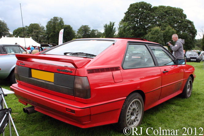 Audi Quattro, Classics at the Castle, Sherborne