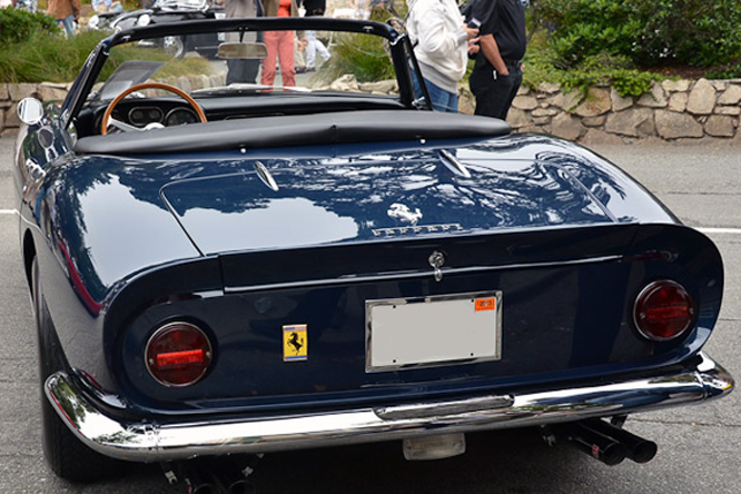 Ferrari 275 GTB/4, Concours by the Sea, Carmel