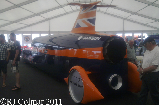 BLOOHOUND SSC, Mock Up, Goodwood Festival Of Speed