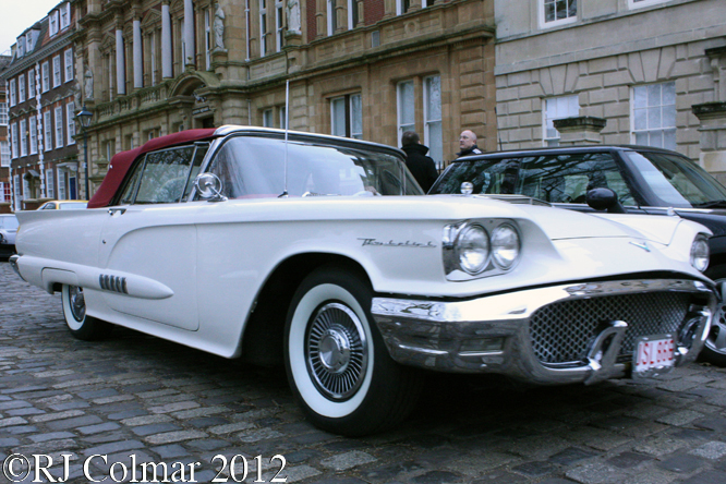 Ford Thunderbird, Avenue Drivers Club, Queen Square, Bristol