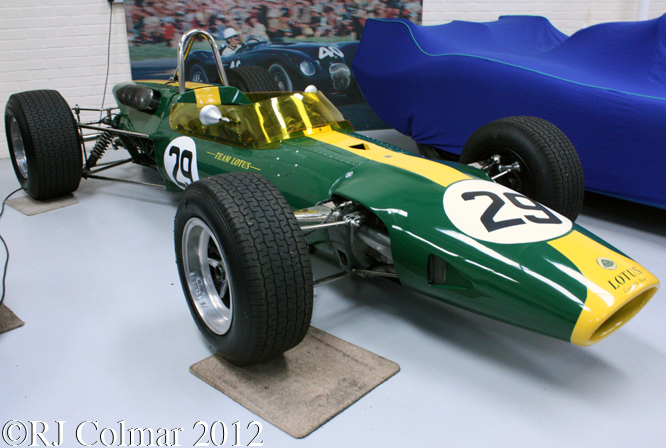 Lotus 48, Hall & Hall, Bourne, Lincs