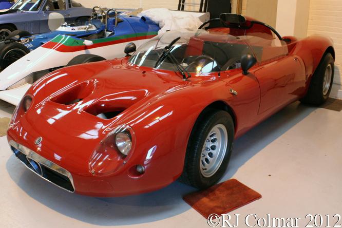 Alfa Romeo T33, Hall & Hall, Bourne, Lincs