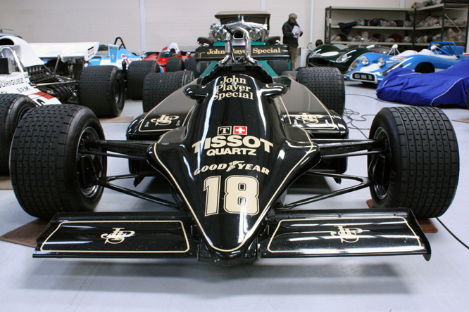 Lotus Ford 81, Hall & Hall, Bourne, Lincs