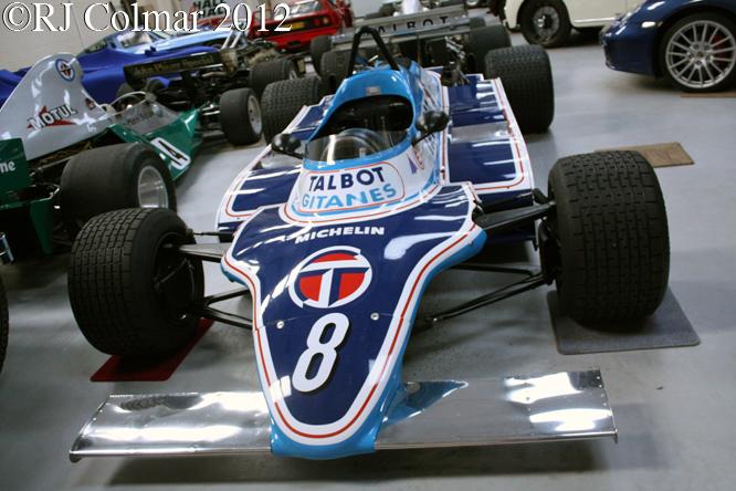 Ligier JS17, Hall & Hall, Bourne, Lincs