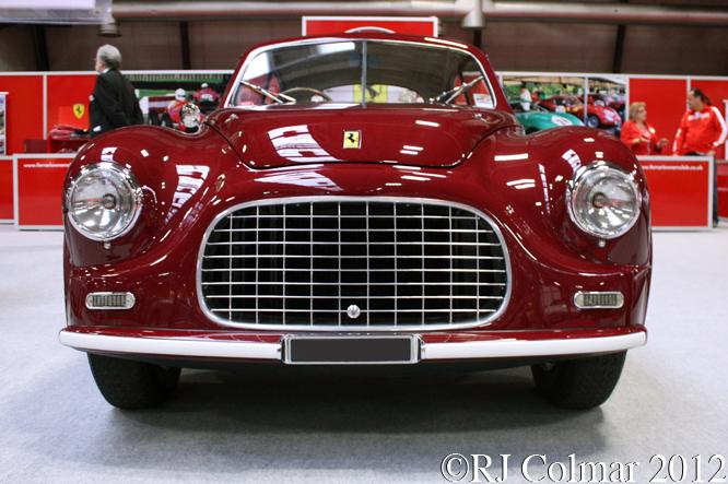 Ferrari 166  Inter Touring Coupé, Classic Motor Show, NEC, Birmingham