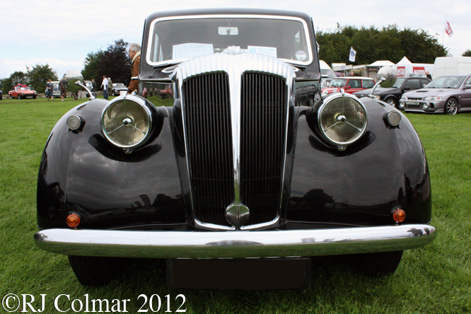 Daimler Consort, Classics at the Castle, Sherbourne