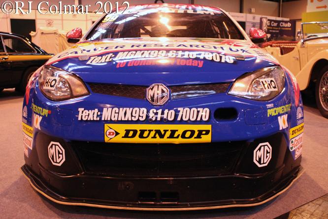 MG6 GT, Classic Motor Show, NEC, Birmingham