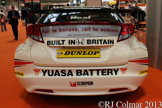 Honda Civic, Autosport International, NEC, Birmingham