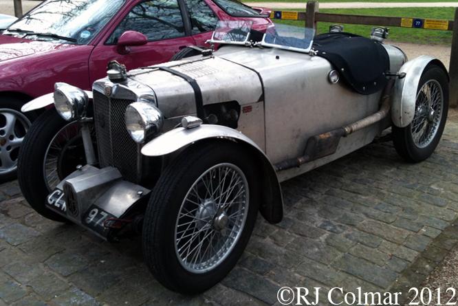 MG Q Type Replica, Avenue Drivers Club, Queen Square, Bristol