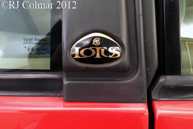 Lotus Excel s. e., Bristol Classic Car Show, Shepton Mallet