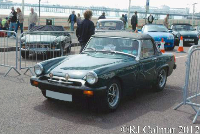 MG Midget 1500, Regency Run Brighton