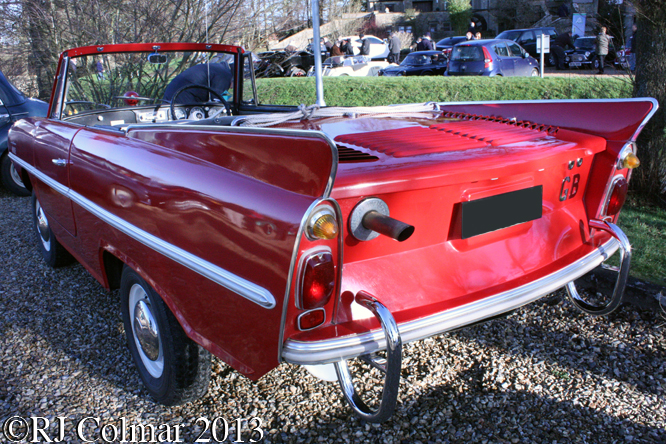 Amphicar, Frogmill, Andoversford