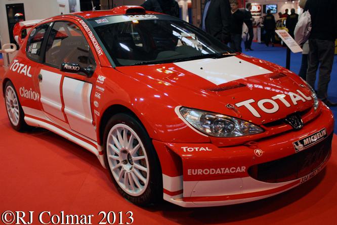 Peugeot 206 WRC, Autosport International, NEC, Birmingham