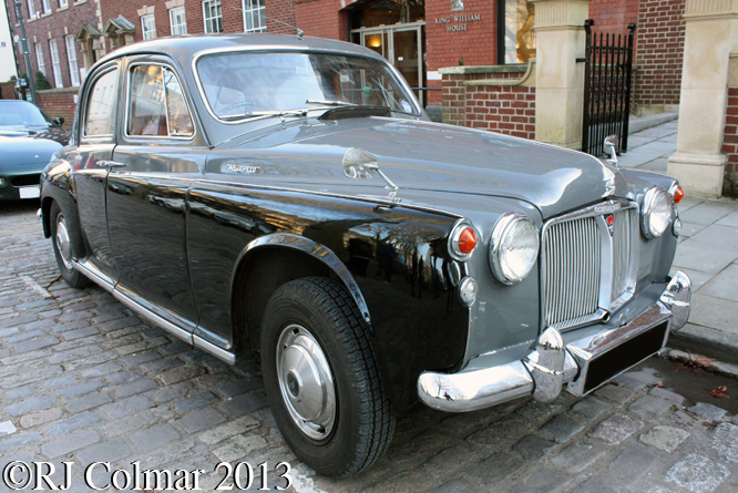 Rover 110 P4, Avenue Drivers Club, Queen Square, Bristol