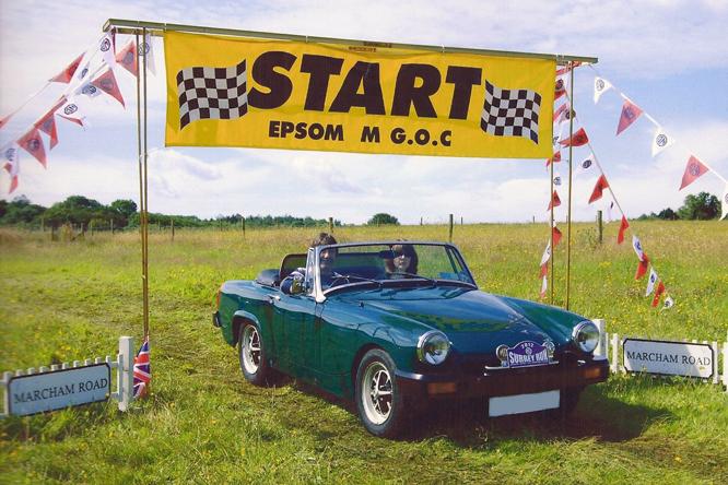 MG Midget 1500, Regency Run, Epsom
