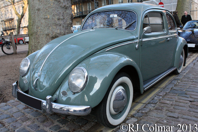 Volkswagen Beetle, Avenue Drivers Club, Queen Square, Bristol
