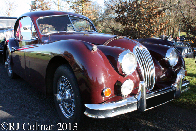 Jaguar XK 140 FHC, Frogmill Inn, Andoversford