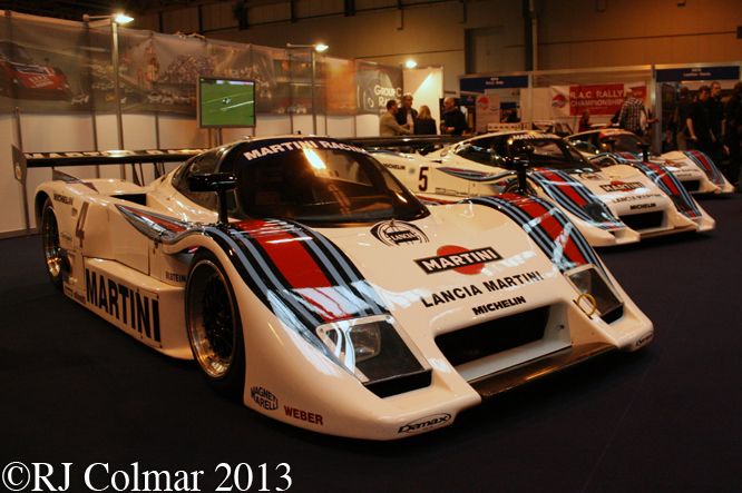 Lancia LC2/85, Autosport International, NEC, Birmingham
