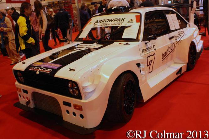 Ford Escort Mk 2, Autosport International, NEC, Birmingham