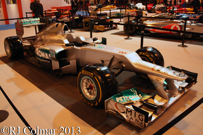 Mercedes F1 W03, Autosport International, NEC, Birmingham
