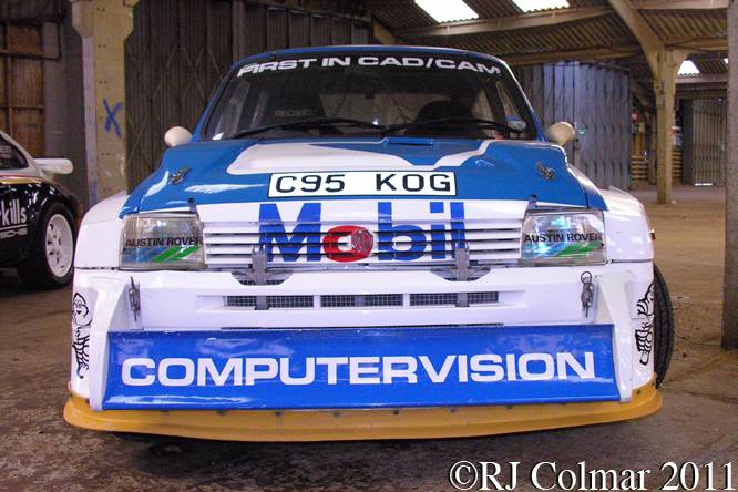 MG Metro 6R4, Race Retro, Stoneleigh