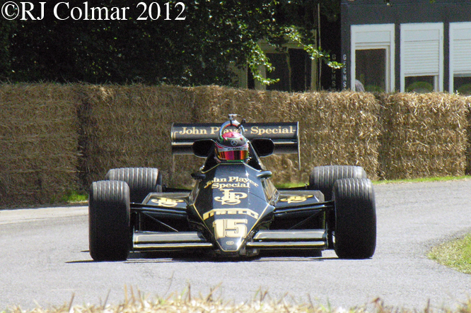 Lotus Ford 92, Goodwood FoS