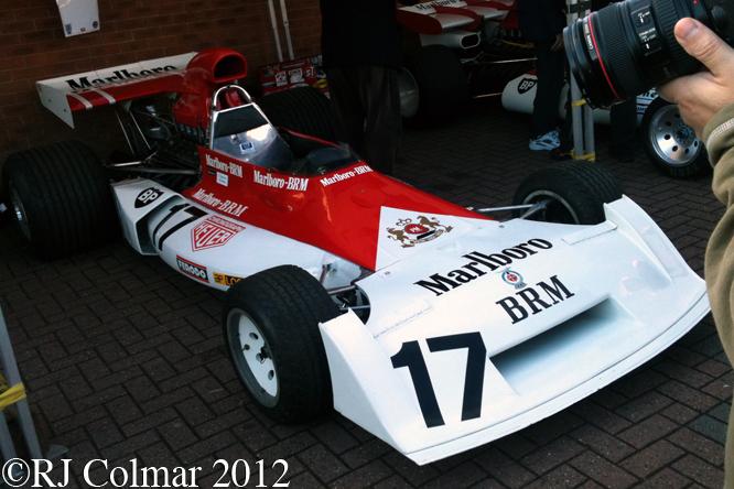 BRM P160 E, BRM Day, Bourne