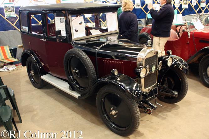 Singer 8 Junior, Bristol Classic Car Show, Shepton Mallet