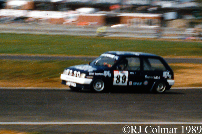 MG Metro Turbo, Silverstone